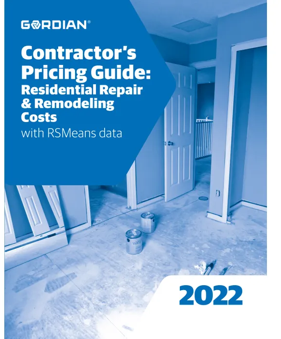 RS Means Contractors Pricing Guide - Residential Repair & Remodeling 2022