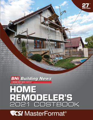 BNI Home Remodeler's Costbook 2021