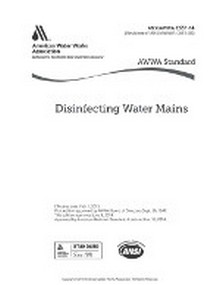 AWWA C651-14: Disinfecting Water Mains