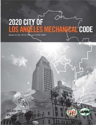 2020 City of Los Angeles Mechanical Code Amendment