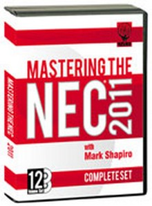 Mastering the NEC 2011, 12 Volume DVD Set