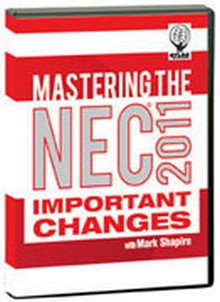 Mastering the 2011 NEC Important Changes on DVD