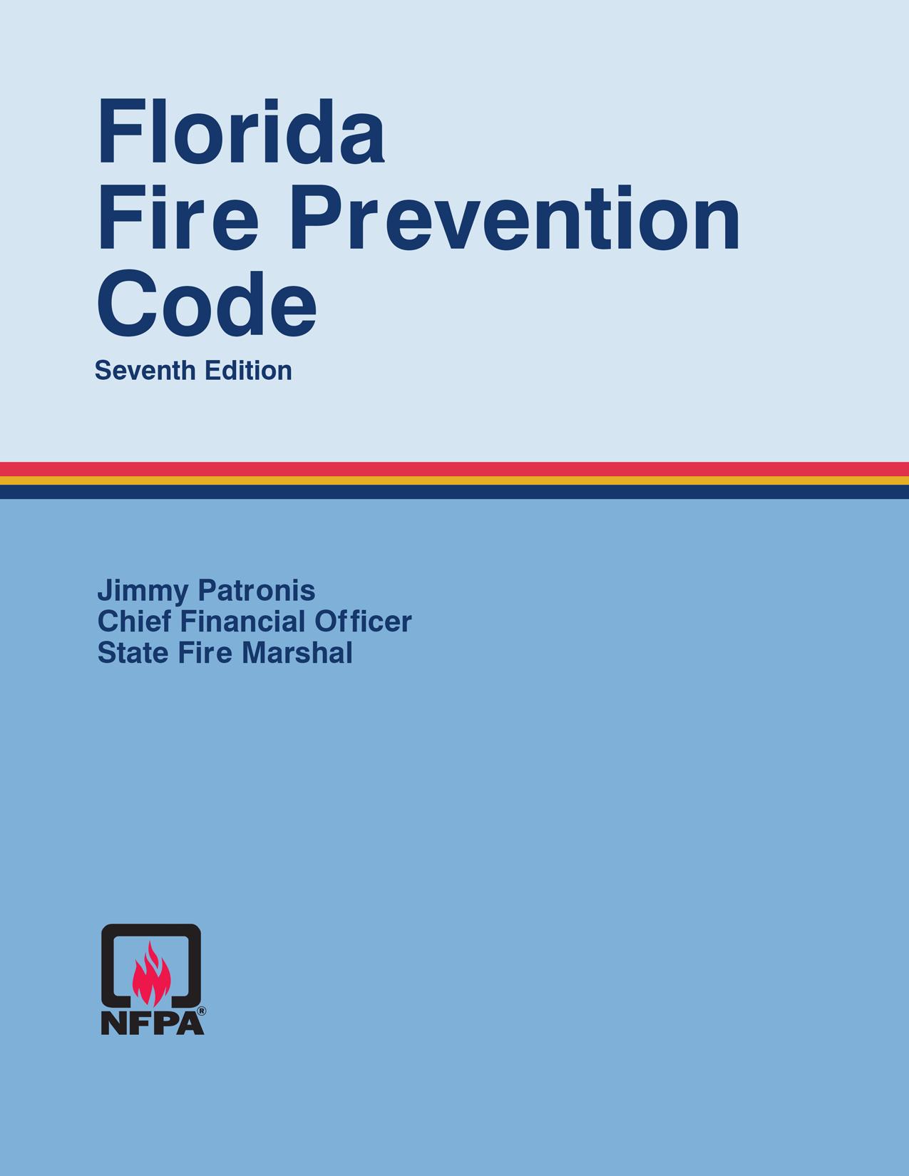 Florida Fire Prevention Code Seventh Edition