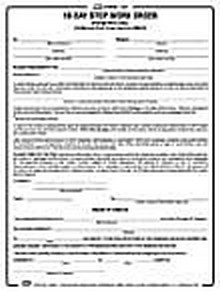 BNi Form 130: 10-Day Stop Work Order | Construction Book Express