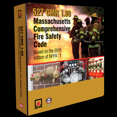 Massachusetts Comprehensive Fire Safety Code, 527 CMR 1.00
