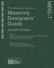 Masonry Designers Guide, 7th Edition