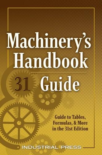 Machinery's Handbook, 31st Edition Large Print