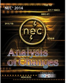 2014 National Electrical Code<br/> - Analysis of Changes