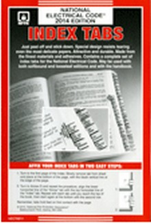 2014 National Electrical Code Divider Tabs (NEC Tabs)