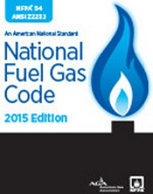 NFPA 54 - National Fuel Gas Code - 2015 Edition