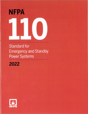 2022 NFPA 110 Emergency and Standby Power Systems
