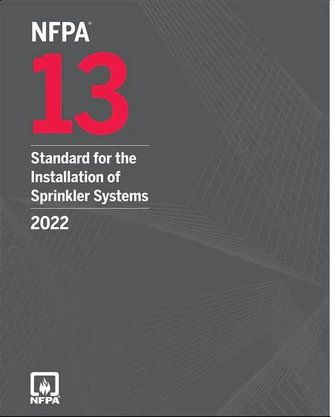 2022 NFPA Installation of Sprinkler Systems