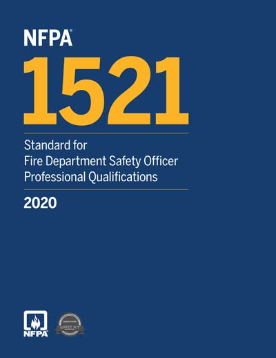 2020 NFPA 1521 Standard for Fire Department Safety Officer