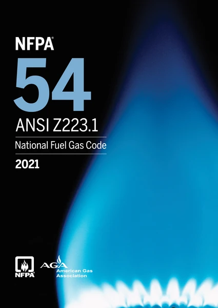 NFPA 54/ANSI Z223.1, National Fuel Gas Code 2021