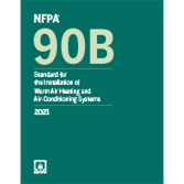 NFPA 90B: Standard for the Installation of Warm Air Heating and Air-Conditioning Systems, 2021
