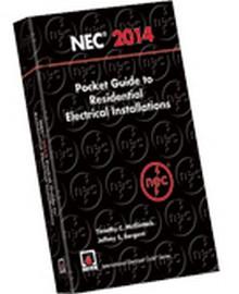 2014 nec pocket guide to residential electrical. Black Bedroom Furniture Sets. Home Design Ideas