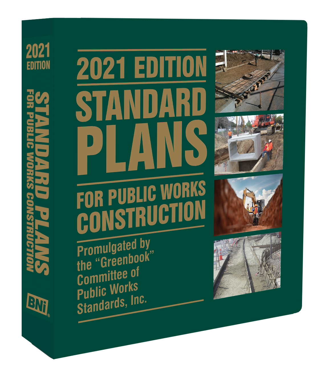 Standard Plans for Public Works Construction, 2021 Edition