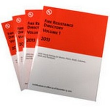 UL Fire Resistance Directories 2015 - 4 Volume Set