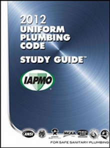 2012 Uniform Plumbing Code (UPC) Study Guide