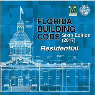Florida Building Code – Residential 2017, Loose Leaf
