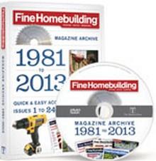 Fine Homebuilding Magazine Archive DVD