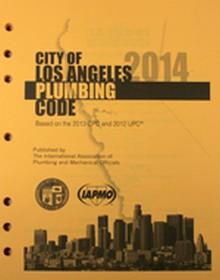2014 City of Los Angeles Plumbing Code Amendments
