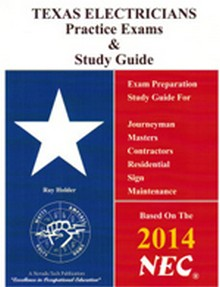 2014 Texas Electricians Practice Exams & Study Guide